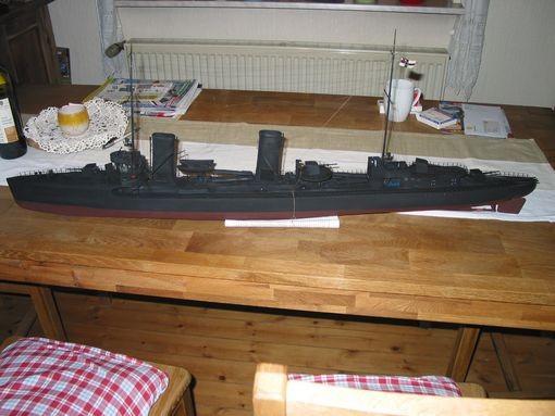 """Modell Torpedoboot """"V116"""" - Bild: Margin"""