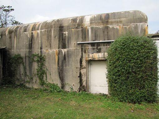 Der Bunker für die Besatzungen in Urville Nacqueville heute - Bild: Benoît