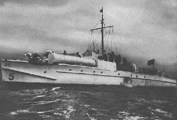 """""""S 5"""" das letzte Boot mit Otto-Motor - Bild: Archiv Förderverein"""