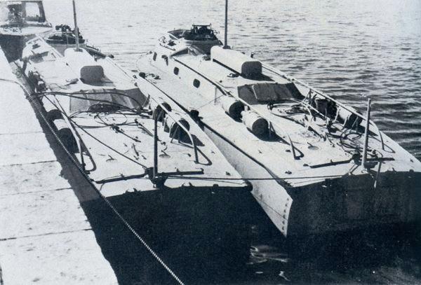 """""""LS-5"""" und """"LS-6""""  in der Ägäis - Bild aus Fock: """"Schnellboote Bd. 2"""""""