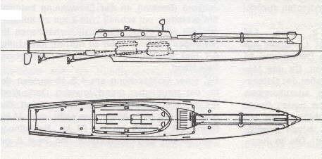 """Plan """"LM 1"""" - """"LM 5"""" - Bild aus Fock: """"Schnellboote Bd. 1"""""""