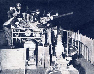 Das neue 40-mm-Geschütz - Foto: PK-Aufnahme