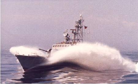 S-Boot der Klasse 148 beim Stationieren - Foto: Archiv Förderverein