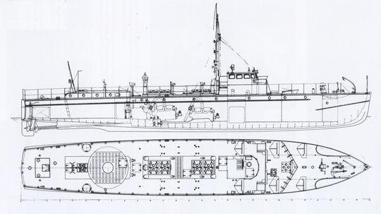 """""""S 1"""" - bb. aus Conelly/Krakow """"Schnellboot in Action"""""""