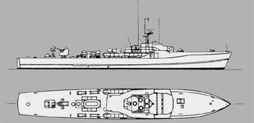 """S-Boot Klasse 149 (""""Silbermöwe"""")"""
