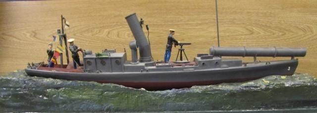 "Modell Torpedo-Dampfbarkasse ""Irene"" - Bild: Döring"