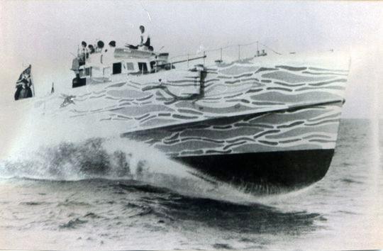 """Boot vom Typ """"S 26"""" im Finnenbusen - Bild: Archiv Förderverein"""