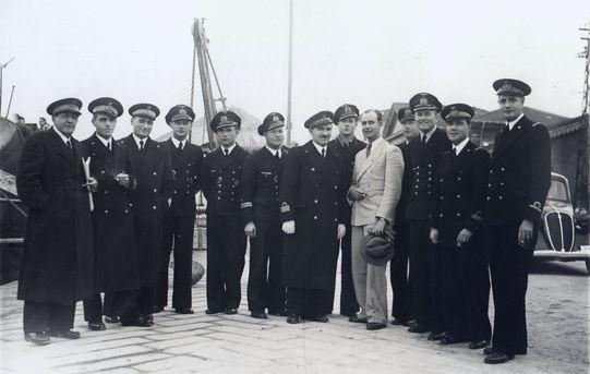 Deutsch-italienische Kooperation, La Spezia 1941 - Foto: Archiv Förderverein