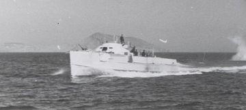 """""""S 47"""" im Schwarzen Meer mit Kalotte - Bild aus Nachlass Kpt zS a.D. K.F. Künzel"""