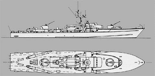 """""""Jaguar""""-Klasse, S-Boot Klasse 140"""