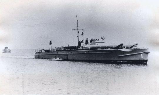 """""""S 1"""" in der Ostsee - Bild: Archiv Förderverein"""