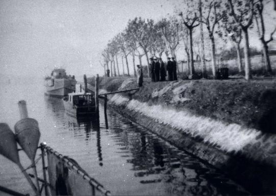 Inspektion durch den F.d.S. in Venedig - Bild: Archiv Heinz Kloetzke