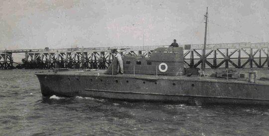 """""""SA 2"""" im Hafen von Den Helder - Foto: Archiv Tjalsma"""