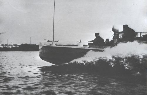 LM-Boot in der Werfterprobung - Bild: Lürssen
