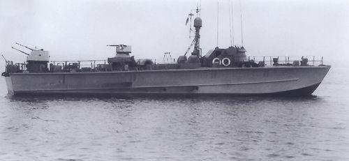 "Boot 0 des Typs TS-Boot ""Forelle"" - Bild: Archiv Mehl"