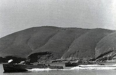 """Boote vom Typ """"S 151"""" in  der Adria – Foto: Archiv Förderverein"""