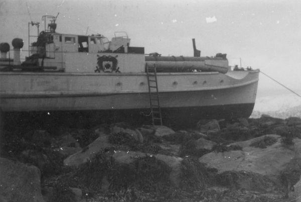"""""""S 16"""" vor Måløy 1941 - Foto: Archiv E. Skjold"""