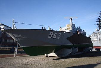 Boot 952 im Marinemuseum Wilhelmshaven - Bilder: Skrypski