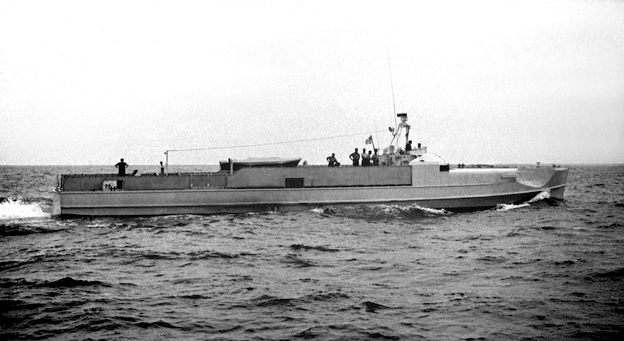 """S 208"" in Rønne - Bild: Archiv Förderverein"