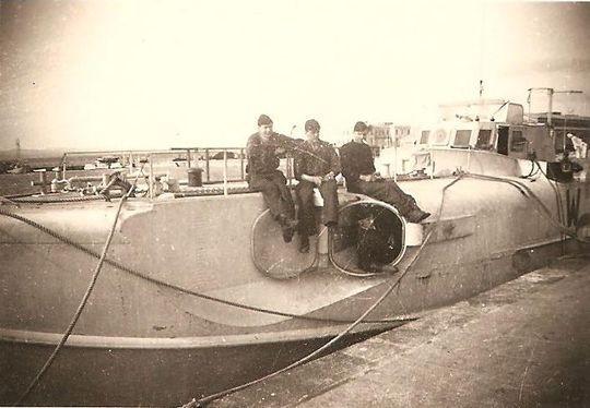 """""""S 155"""" in einem Hafen an der Adria - Archiv: Eric-Jan Bakker"""