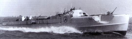 """""""S 99""""  - Bild aus Dallies/Labourdette: """"Deutsche Schnellboote 1939-1945"""""""