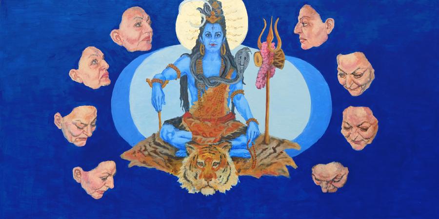 """""""Shiva-Maria""""    Doris Baum"""