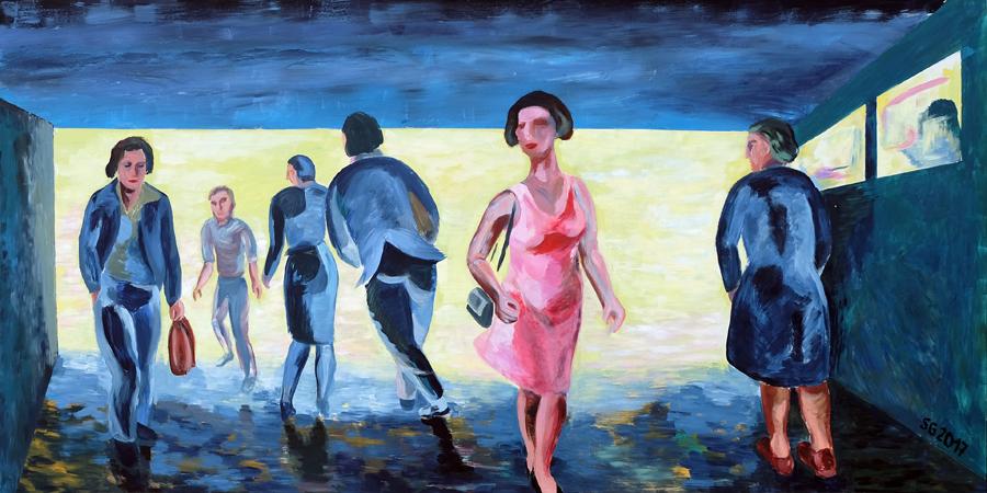 """Der Tanz – 7 Uhr früh""   Sylvia Gerlach"
