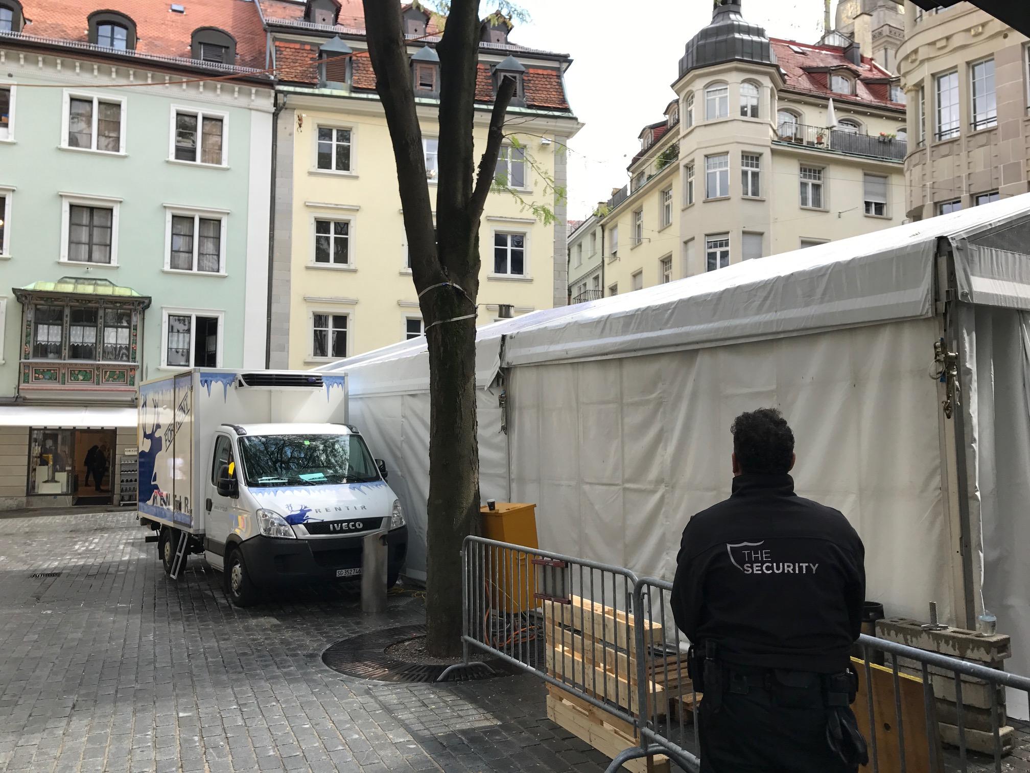 Stadtfest St. Gallen Objektbewachung Bärenplatz