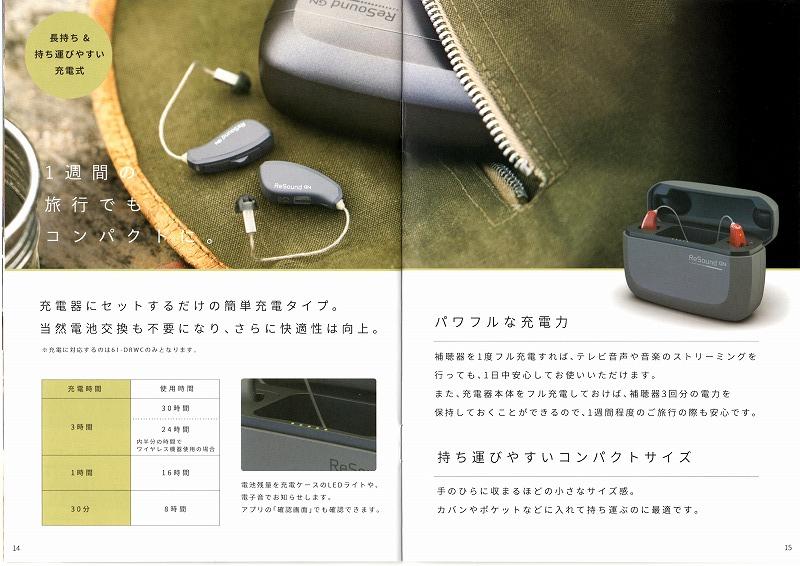 長岡 新潟 補聴器 出張訪問 専門店 フエキ 充電 良く聞こえる 音質