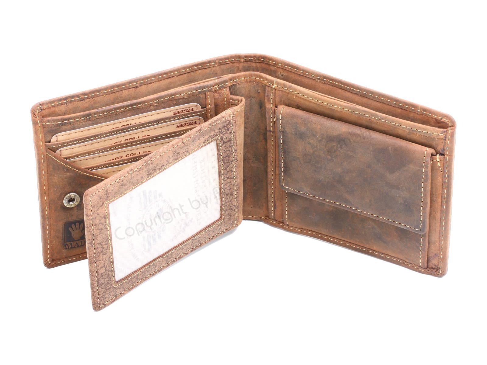 77a611e737cef Greenburry Vintage Ledergeldbörse 1702 - Portemonnaie Paradies