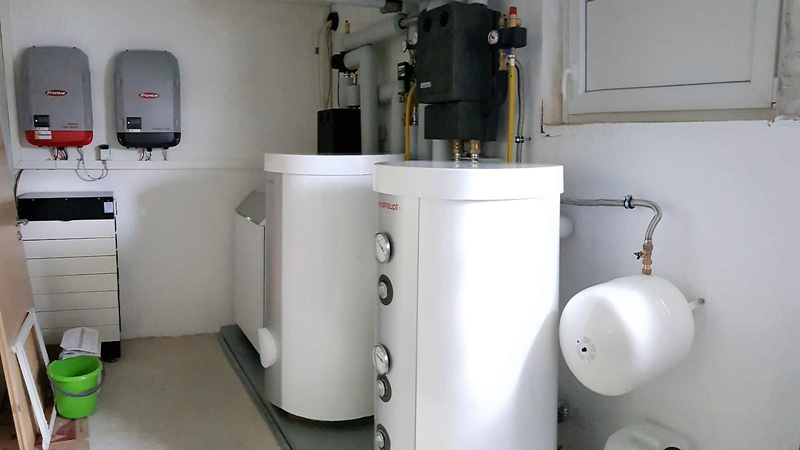 Weishaupt Luft/Wasser-Wärmepumpe Biblock