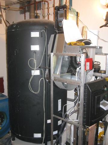 Solvis Solarpuffer, Schichtspeicher