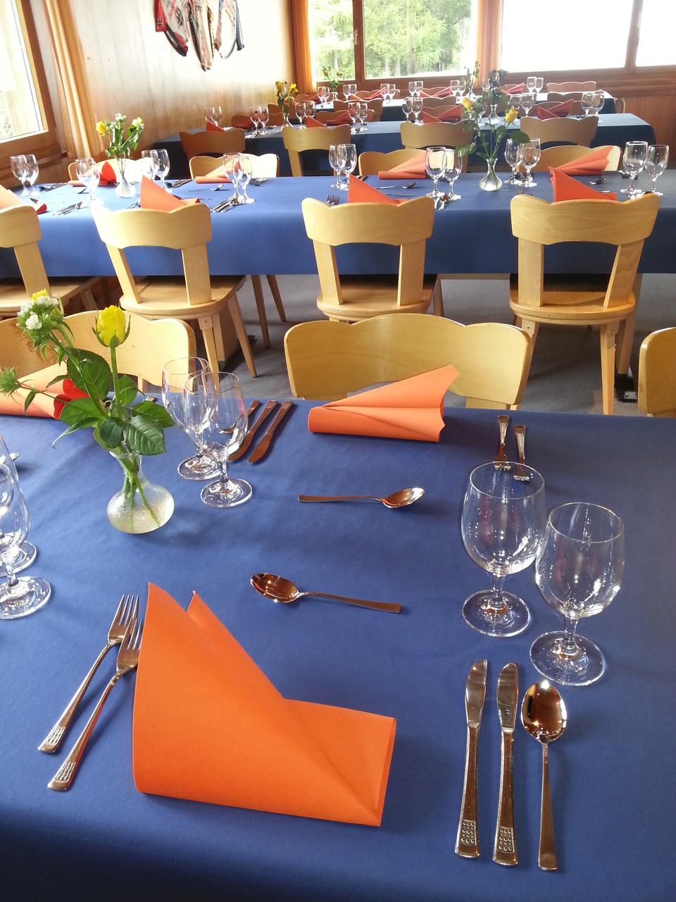 Bereit für die Gäste