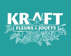 Logo, design graphique pour boutique de fleur à Bordeaux Nansouty