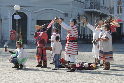 Die Tanzgruppe Mayahuel