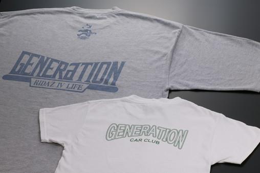 Tシャツへのシルク印刷にもお応えできます