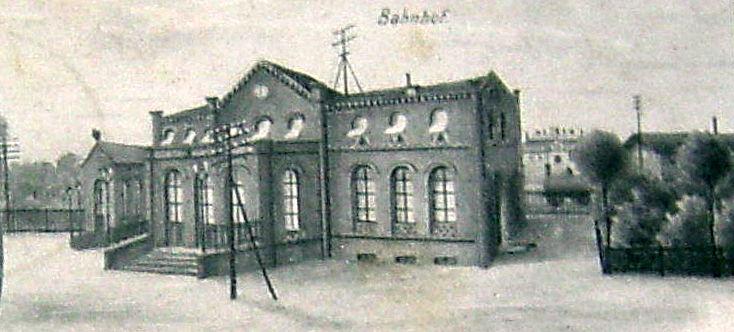 1900: Empfangsgebäude Königs Wusterhausen