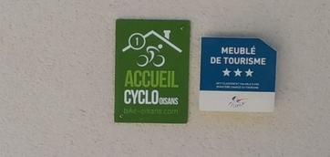 Label cyclo et classement du chalet Limondin