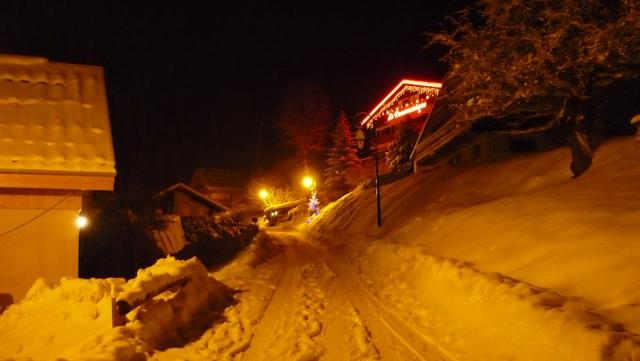 L hiver au chalet Limondin
