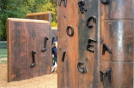 espace Culture - les livres à grimper et le mur d'escalade Lulli