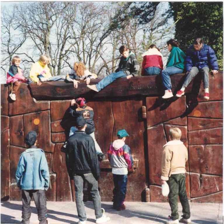 la Porte Amphithéatre, espace d'escalade