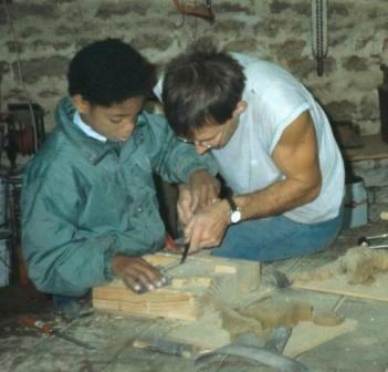 dévouverte du travail sur bois