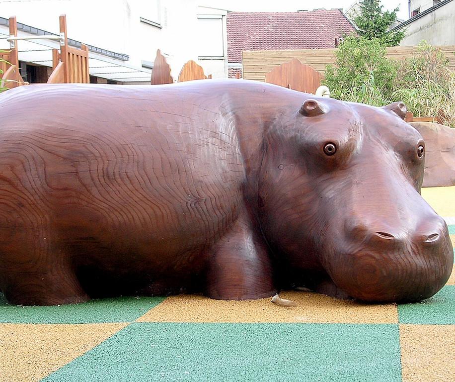 Roméo l'hippo à Chalons en Champagne