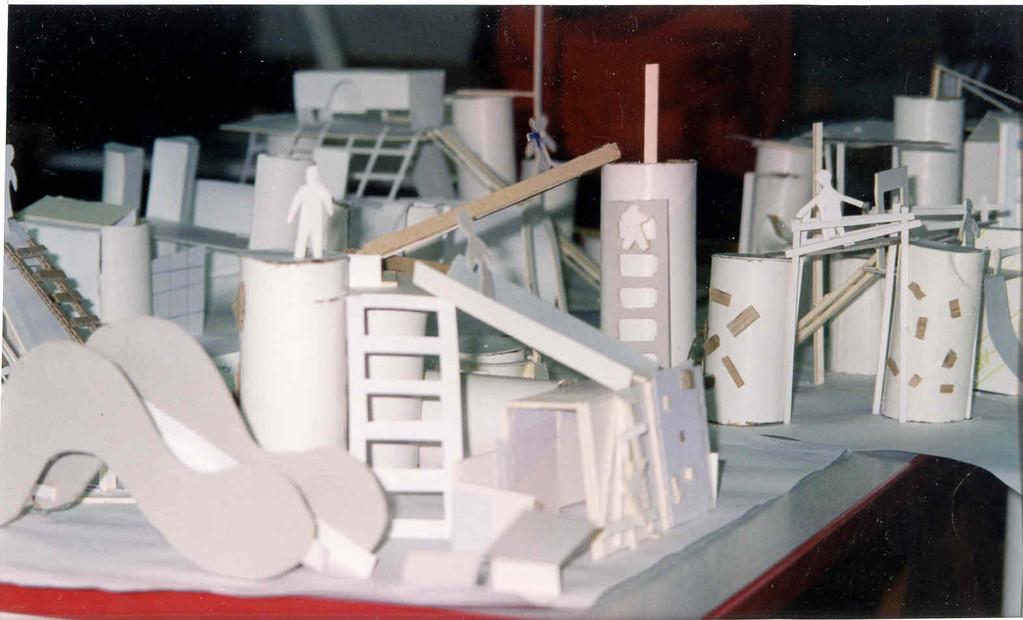 maquettes volumétriques en carton