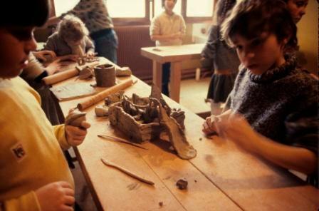 maquettes volumétriques en terre