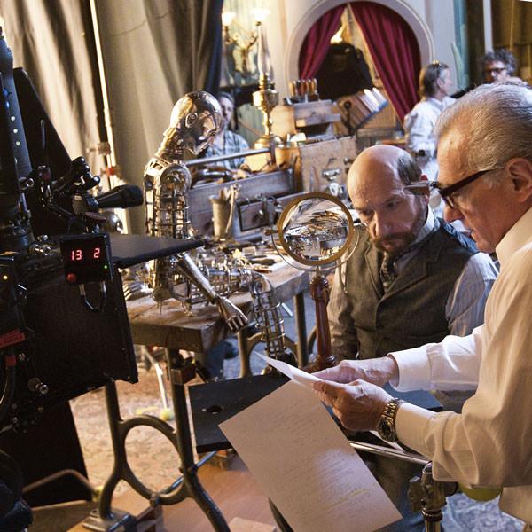 Martin Scorsese, Ben Kingsley: HUGO