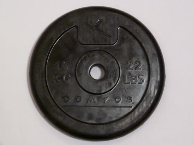 """10kg gummiertes Gewicht - gummierte Gewichte """"klingeln"""" nicht bei schnellen Bewegungen"""