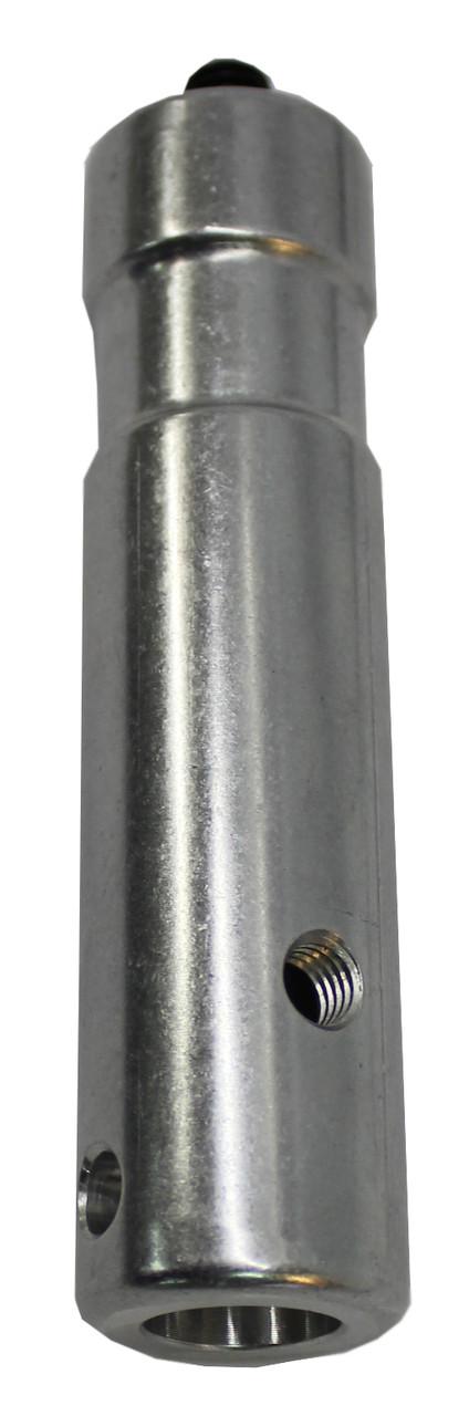28mm Zapfen (PS359) zur Abstützung der Verlängerungsschiene auf Lichtstativ mit 28er Hülse