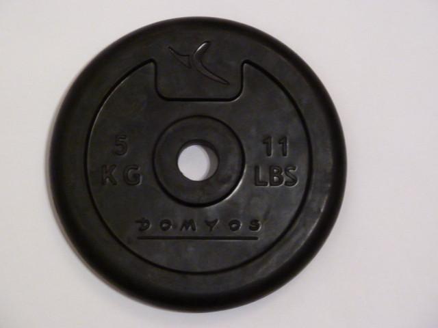 5kg gummiertes Gewicht - da kann nichts verkratzen