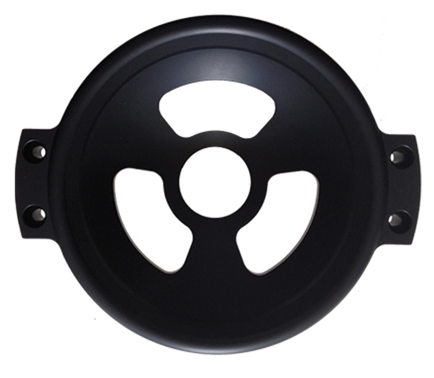 150mm Kugelschale (PS150M) muß immer mit 2 mitzubestellenden Abstandsblöcken auf dem Tango montiert werden